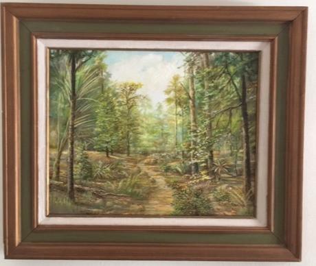 Infinite Winding Woodland Trail
