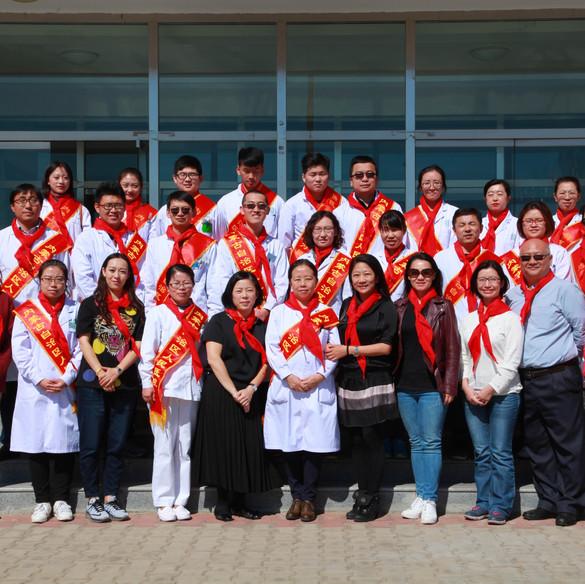 善學弱視工程(內蒙自治區)篩查活動 Sheen Hok Amblyopia Project Screening Day in Inner Mongolia