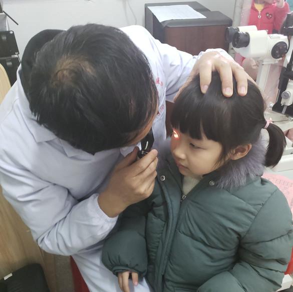 善學弱視工程(江西石城站)義診篩查活動 Sheen Hok Amblyopia Project Screening Day in Jiangxi Shicheng