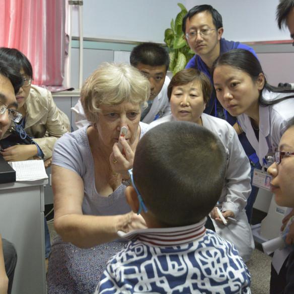香港善學弱視救助工程-邯鄲培訓專案,邯鄲 2015 Sheen Hok Amblyopia Project – Professional Training in Handan