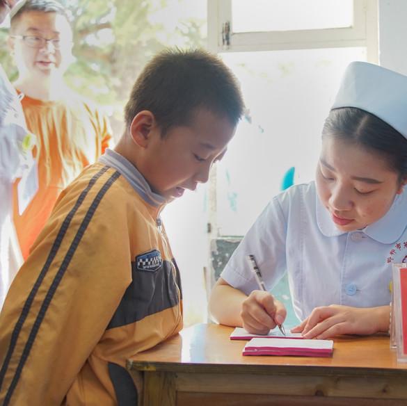 善學弱視工程(邯鄲站)義診篩查活動 2016 Sheen Hok Amblyopia Project Screening Day in Handan