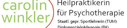Carolin Winkler Heilpraktikerin für Psychotheraie Hypnose Bertung Bgleitung Therapie
