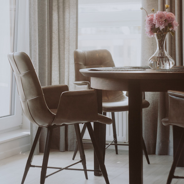 ina table