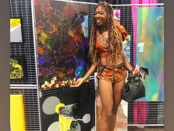Jade Muse Performs at Atlanta Women's Expo 2019!