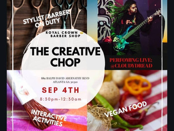 NEW EVENT ALERT* (The Creative Chop)