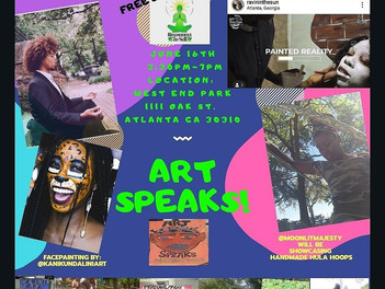 Free Event ART SPEAKS!!!!