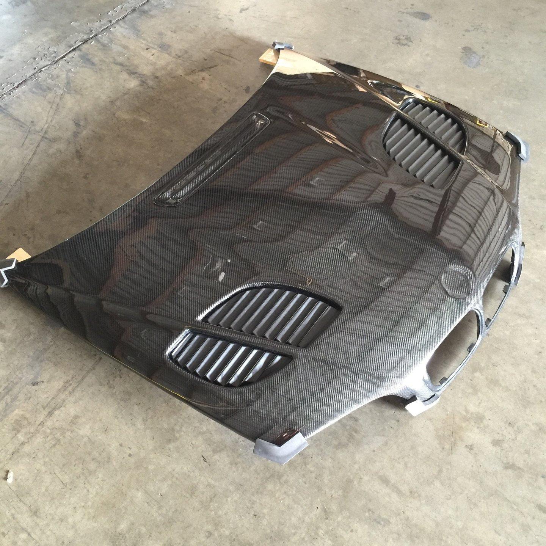 Bmw E46 M3 Gtr Vented Carbon Fiber Hood