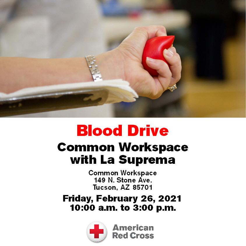Red Cross Blood Drive (La Suprema + Common Workspace)