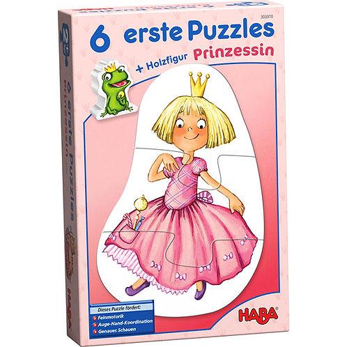 6 erste Puzzles – Prinzessin