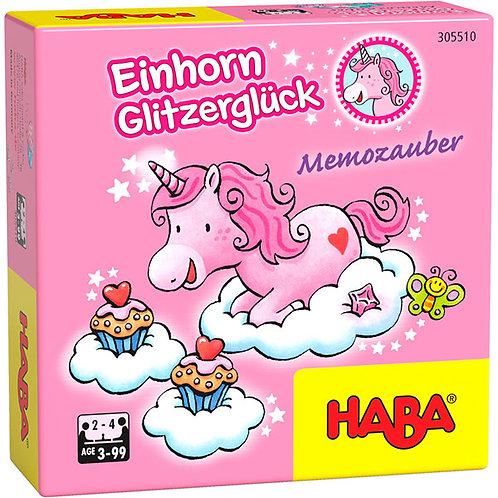 Einhorn Glitzerglück – Memozauber