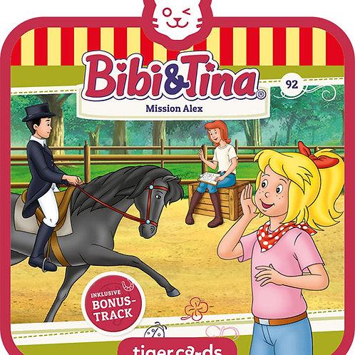 tigercard – Bibi und Tina –Mission Alex