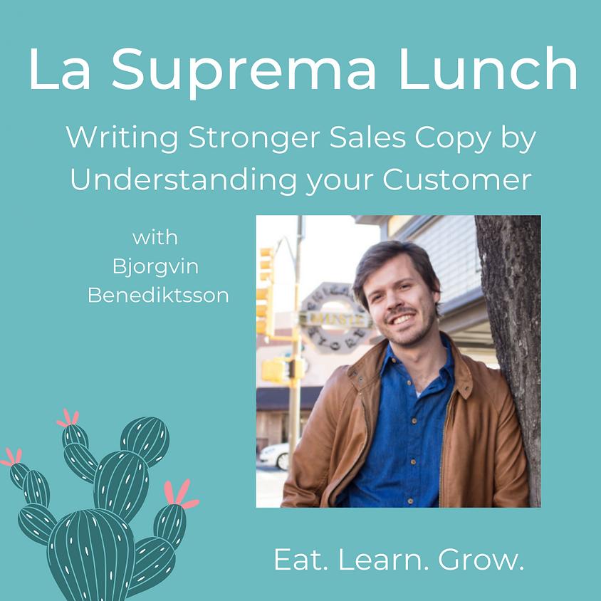 Writing Stronger Sales Copy by Understanding your Customer with Bjorgvin Benediktsson