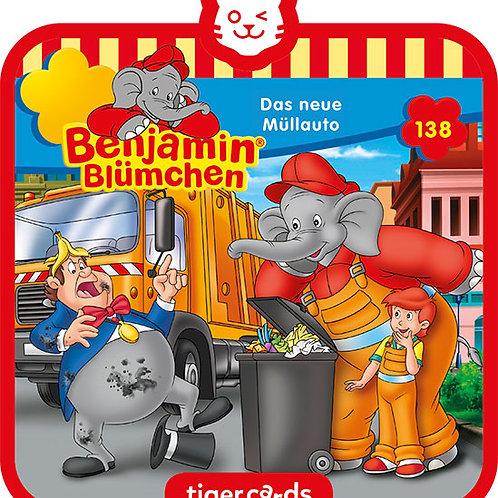 tigercard Benjamin Blümchen – Das neue Müllauto