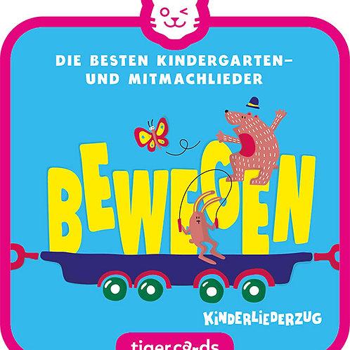 tigercard – Die besten Kindergarten- und Mitmachlieder BEWEGEN