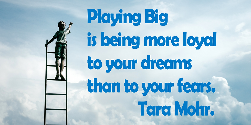 Join Our Playing Big Book Group