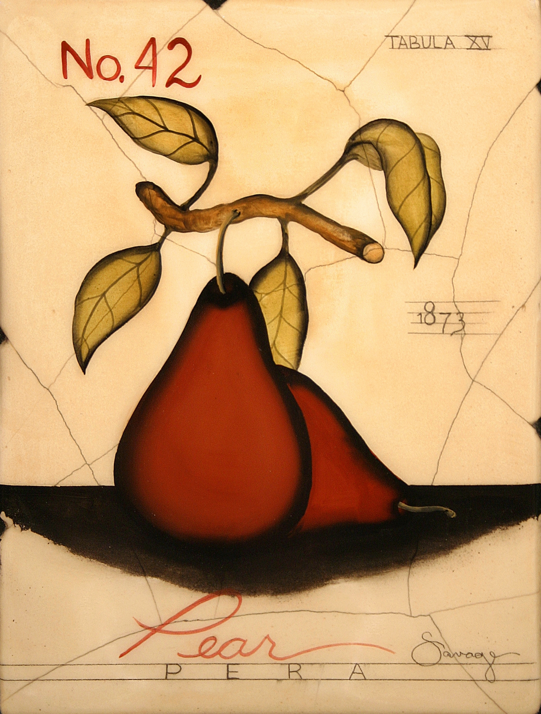 No. 42 Red Pear
