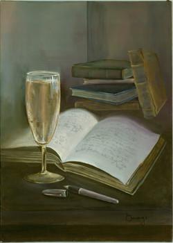 Journal & Wine