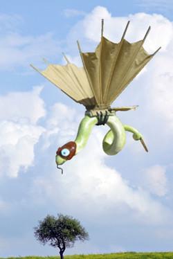 Flying Snake. Multi-media
