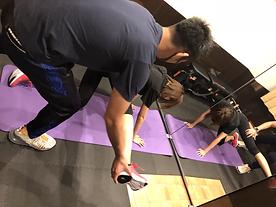 ダイエット・ボディメイクRe:Line広尾/パーソナルトレーニング/姿勢矯正