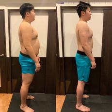 夏に向けて一段と絞ります114.8kg→88kgまでダイエットしてきました!