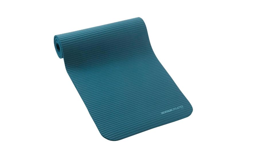 Подлога за пилатес Domyos comfort100, 10мм,плав.
