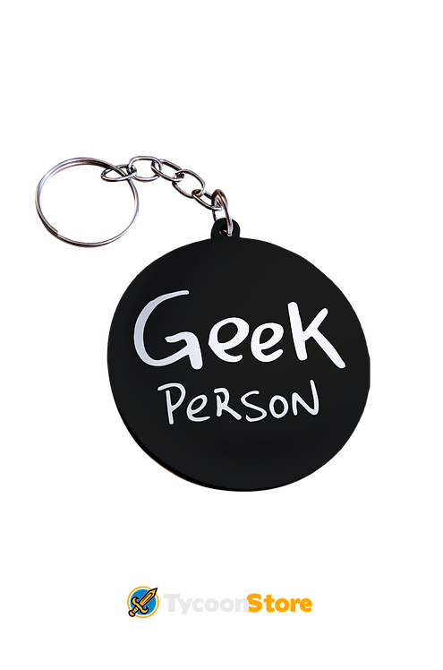 Chaveiro MDF - Geek Person