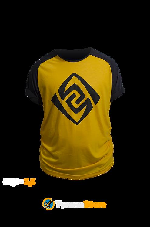 Camiseta Colorida - Geo (Genshin Impact)