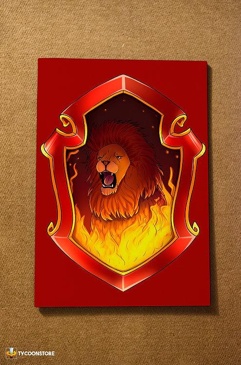 Placa Decorativa - Grifinória