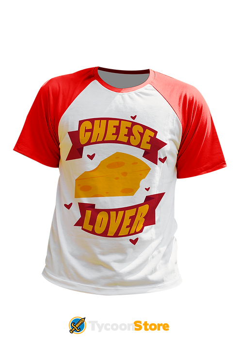 Camiseta - Cheese Lover (Amante de Queijo)