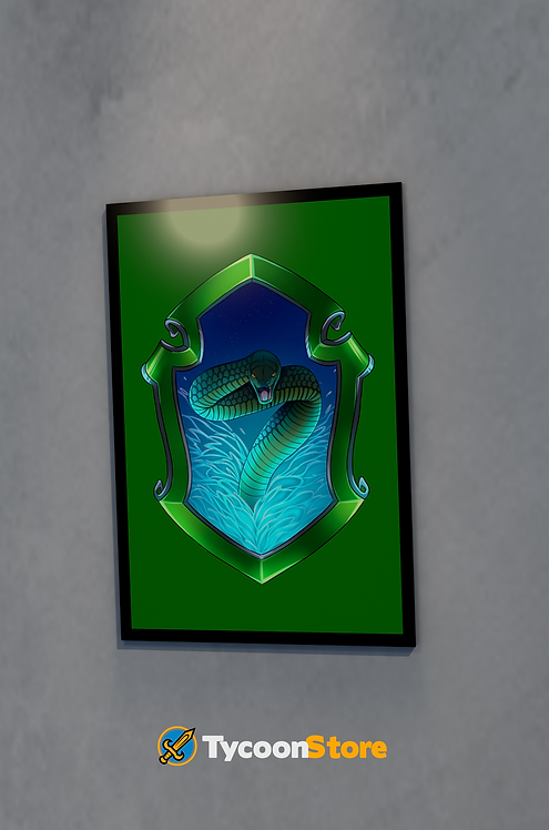 Placa Decorativa  - Sonserina