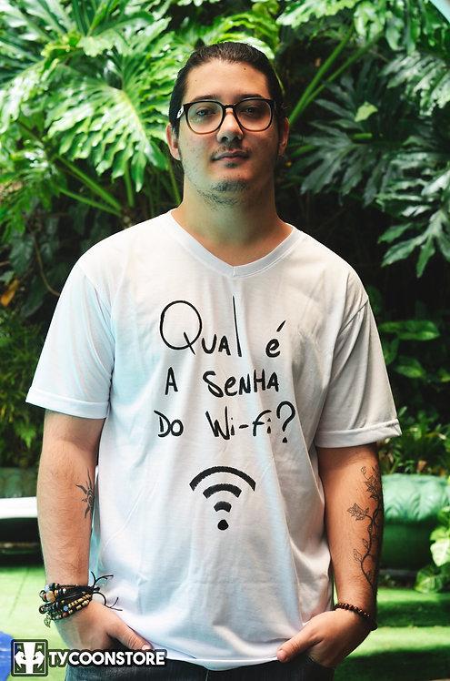 Camiseta - Qual é a senha do Wi-Fi?