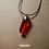 Thumbnail: Colar - Resina Vermelho #90