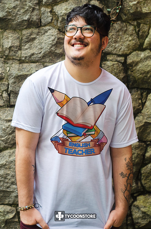Camiseta - Professor de Inglês (English Teacher)