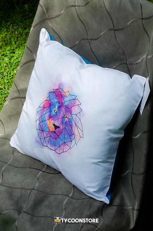 Almofada - Leão Geométrico
