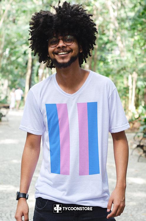 Camiseta - Bandeira Transexual