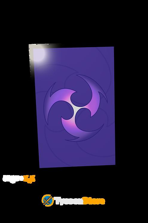 Placa Decorativa - Electro (Genshin Impact)