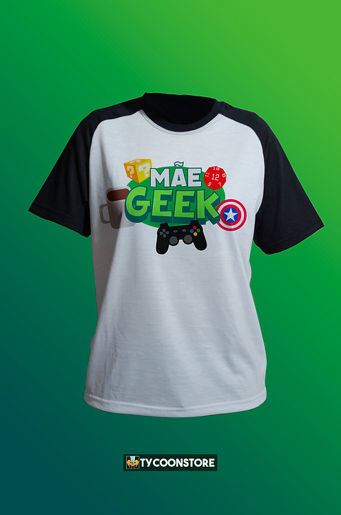 Camiseta - Mãe Geek