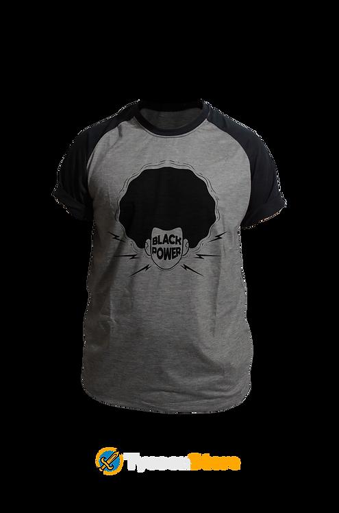 Camiseta Mescla - Black Power