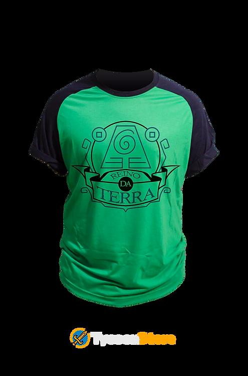 Camiseta Verde - Reino da Terra (Avatar)
