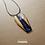 Thumbnail: Colar - Resina e Madeira Azul e Roxo #95