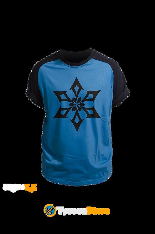Camiseta Colorida - Cryo (Genshin Impact)