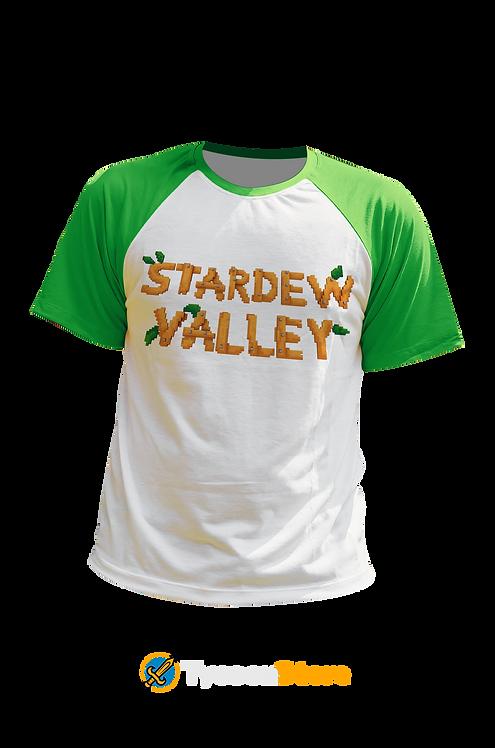 Camiseta Manga Verde - Stardew Valley