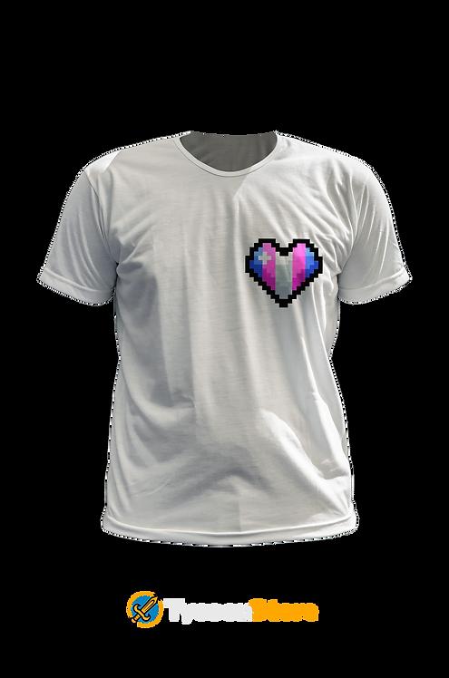 Camiseta - Transexual (LGBT Pixel Art Coração)