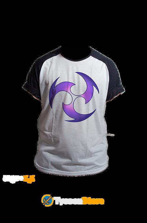 Camiseta Raglan - Electro (Genshin Impact)