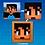 Thumbnail: Rosto Skin Minecraft (Quadro Decorativo) PERSONALIZADO