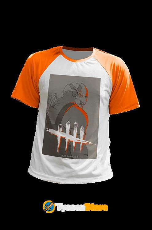 Camiseta Manga Laranja - Dead By Daylight (Jogo)