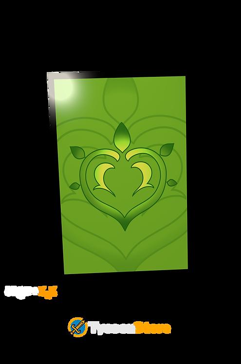 Placa Decorativa - Dendro (Genshin Impact)