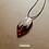 Thumbnail: Colar - Resina e Madeira Vermelho #89