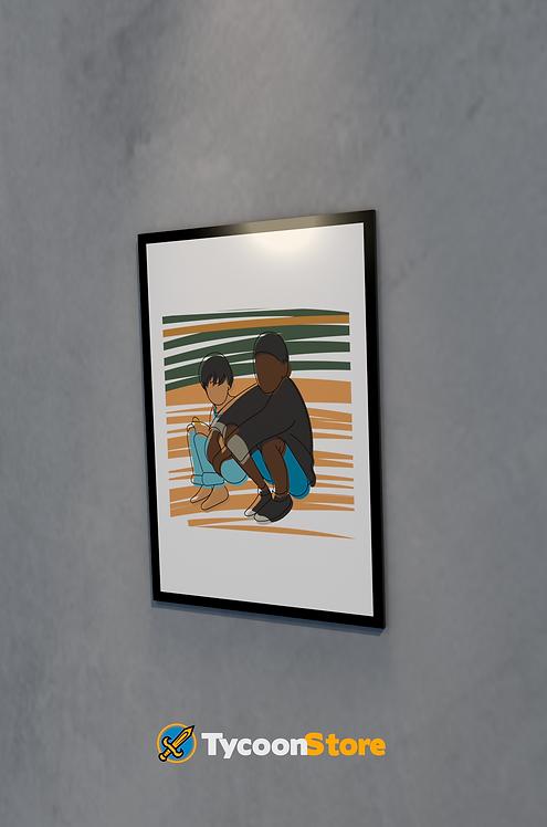 Placa Decorativa - Clube da Esquina