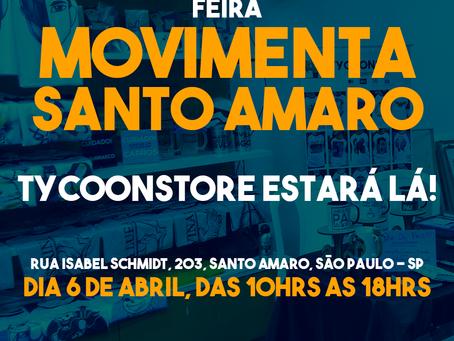 FEIRA: MOVIMENTA SANTO AMARO